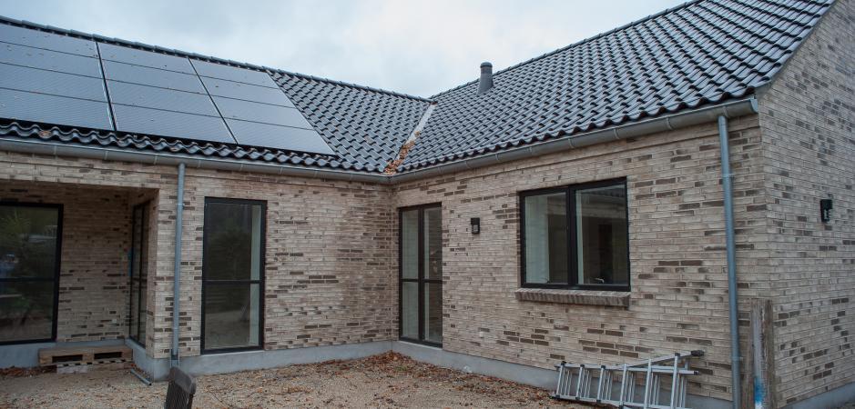 Renovering af hus.
